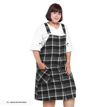 Load image into Gallery viewer, Stilo Amaila Plaid Overall Big Mini Dress