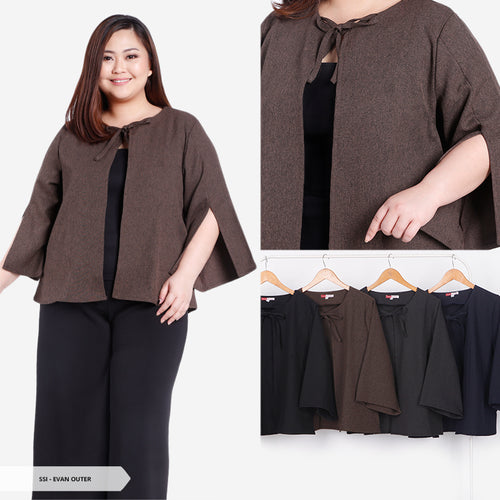 Evan Plain Cape Big Outer SALE 55%