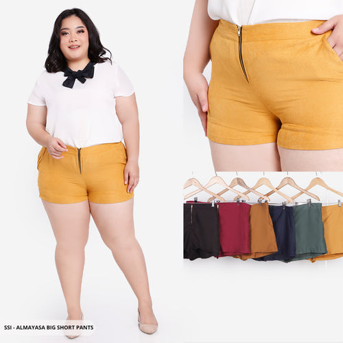 Almayasa Plain Basic Big Short Pants