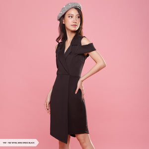 Y&F Myiel Plain Flap Regular Mini Dress