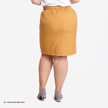 Load image into Gallery viewer, Kelce Plain Span Big Mini Skirt