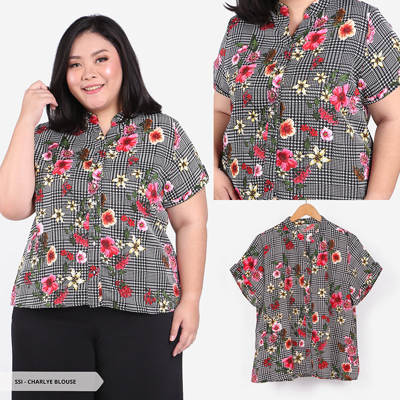 Charlye Flowery Casual Big Blouse