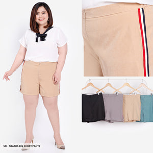 Neatha Plain Casual Big Short Pants SALE 20%