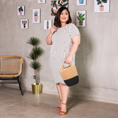 Anaiyt Salur Sabrina Big Mini Dress