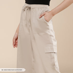 Basca Purna Plain Culottes Regular Pants
