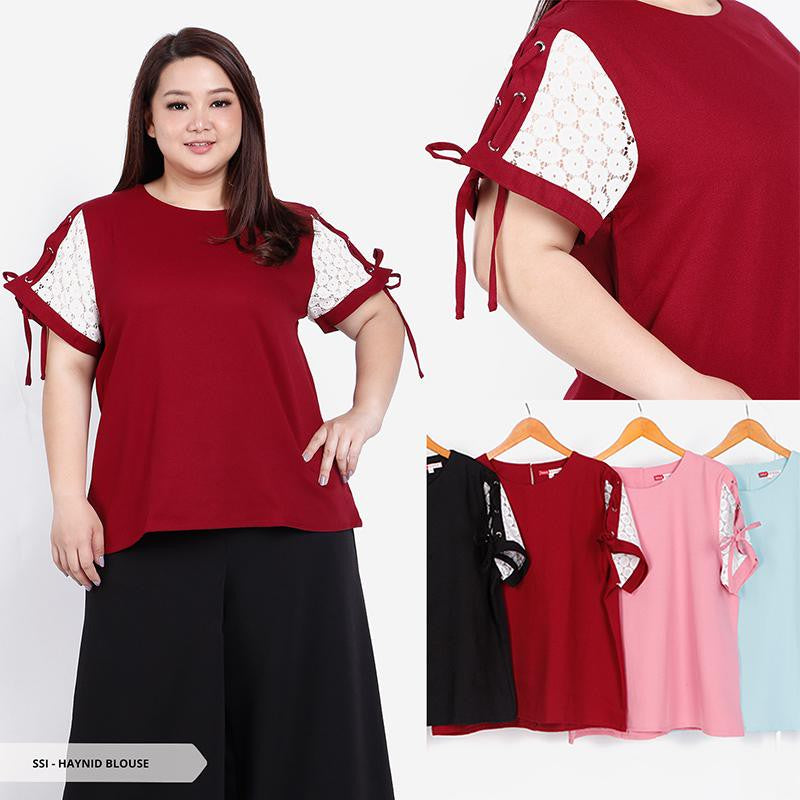 Haynid Plain Casual Big Blouse