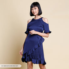 Load image into Gallery viewer, Enora Plain Ruffle Regular Mini Dress Sale 35%