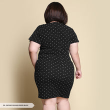 Load image into Gallery viewer, Rietary Polkadot Bodycon Big Mini Dress