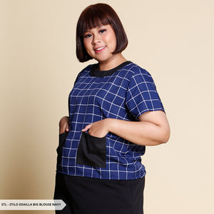 Stilo Edailla Square Crop Big Blouse