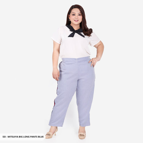 Mitsuiya Misty Casual Big Long Pants