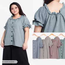 Load image into Gallery viewer, Aymaria Plain Simple Big Blouse SALE 55%