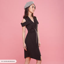 Load image into Gallery viewer, Y&F Myiel Plain Flap Regular Mini Dress