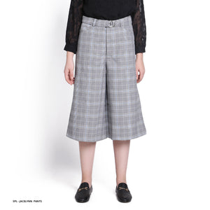 Stilo Jacelynn Houndstood Culottes Reguler Long Pants