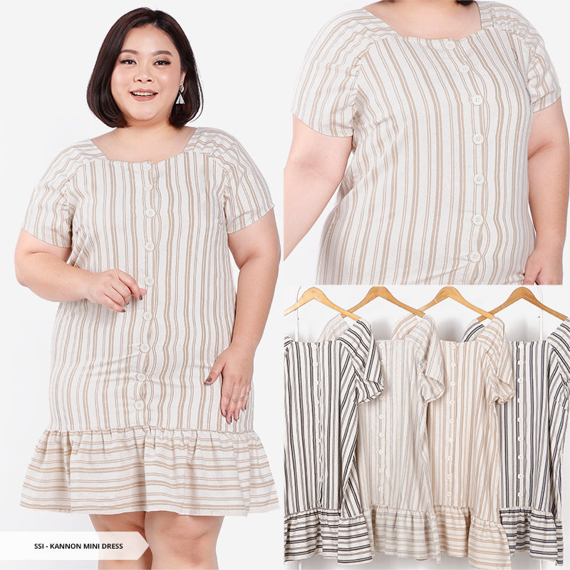 Kannon Salur Flare Big Mini Dress