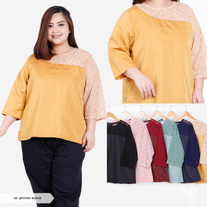 Jefutisa Brukat Simple Big Blouse