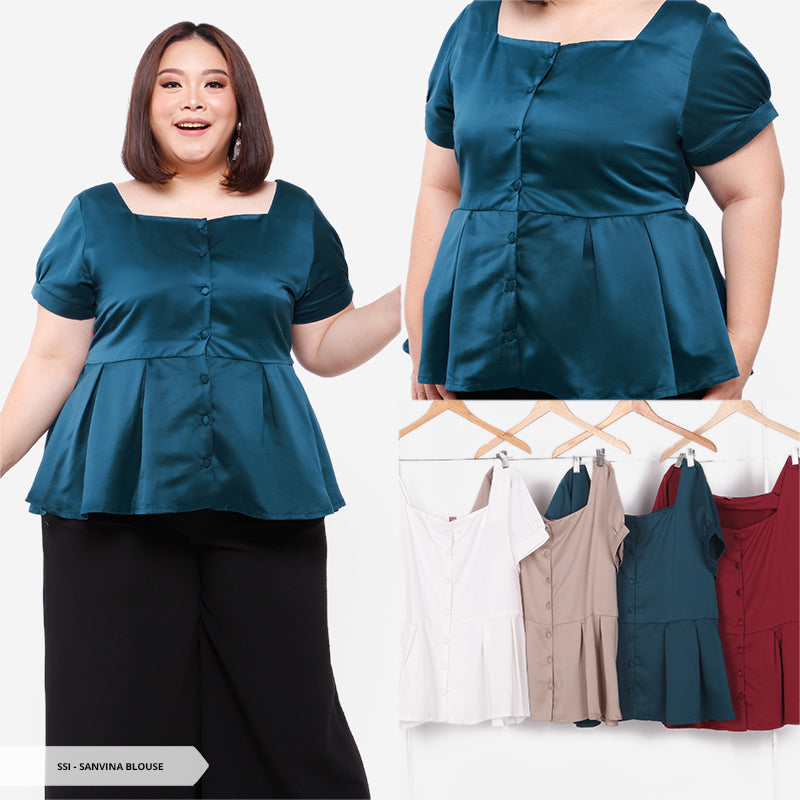 Sanvina Plain Simple Big Blouse