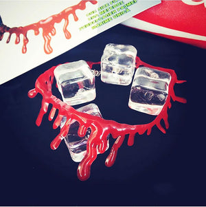 Blood Drip Choker