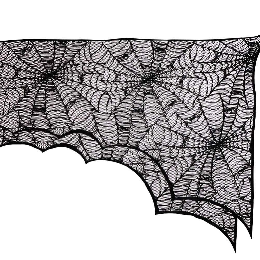 Mantelpiece Spiderweb Decor 188*90cm