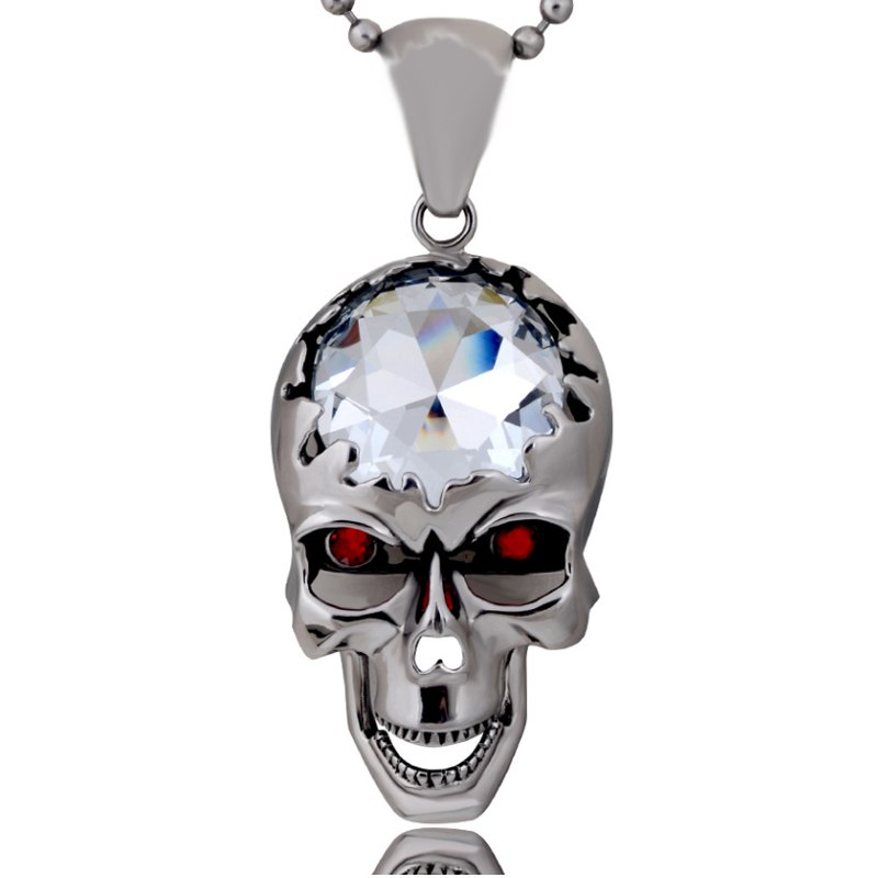 NEW Red Or Dead™ Skull Pendant