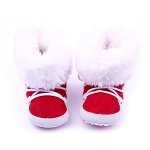 Re-Designed! FirstWalkers™ Anti-Slip Fleece Winter Booties