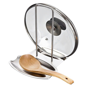 Stainless Steel Drip Tray For Pot Lid & Spoon
