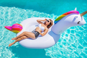 Giant Inflatable Unicorn Pool Float