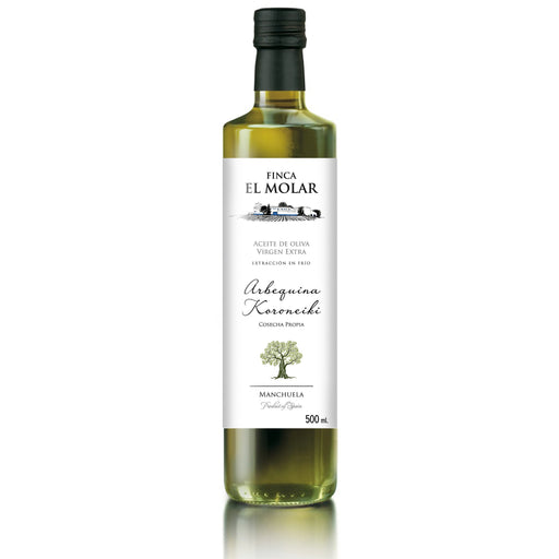 ES Manchuela Finca El Molar Extra Vierge Olive Oil cold extraction 0,5l
