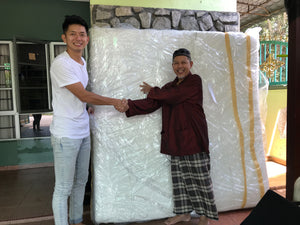 Sonno Community Outreach Program: Ever Wondered What We Do With Our Returned Mattresses?