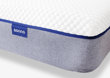 sonno mattress product photo corner