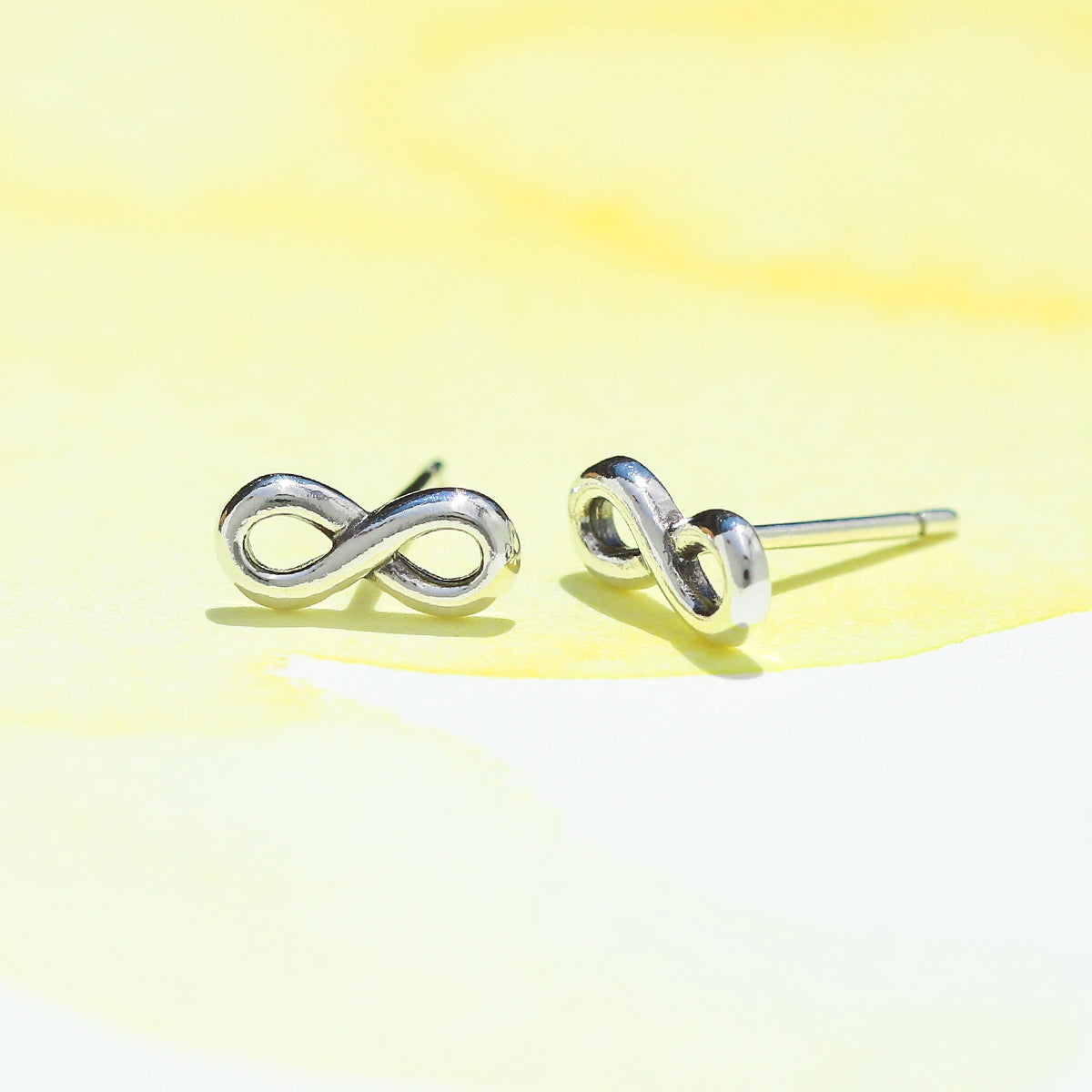 2d6449ce2 BOMA JEWELRY| sterling silver INFINITY stud earring