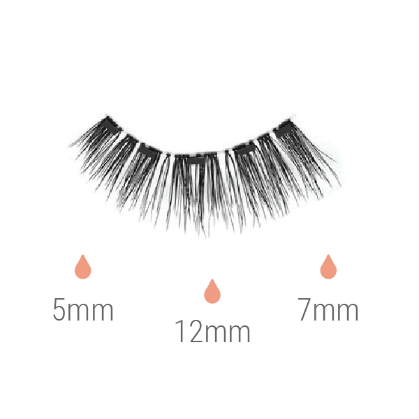 DASHA VEGAN MAGNETIC EYELASHES - Saphyra Boutique