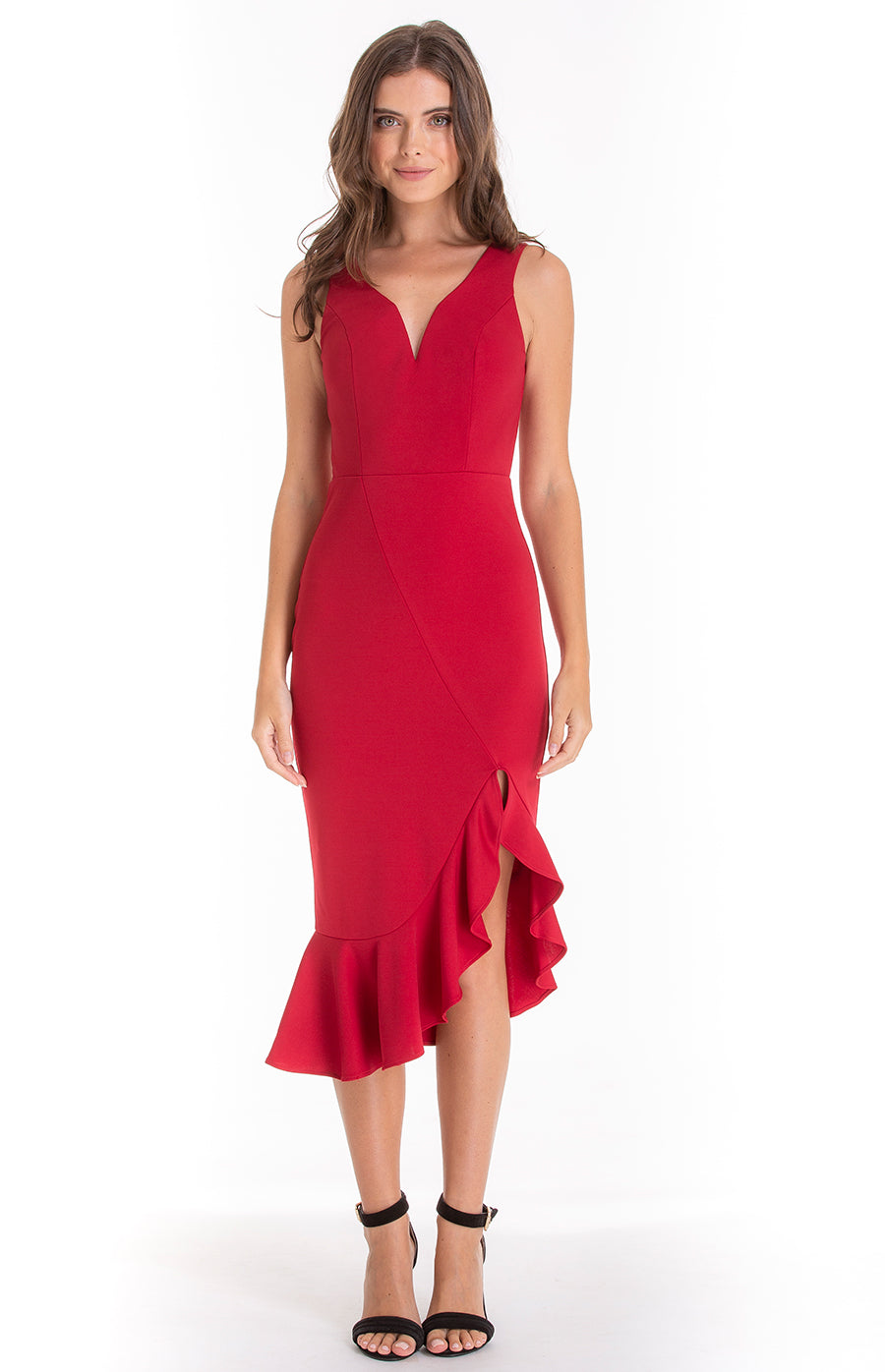 JULIET RED DRESS - Saphyra Boutique