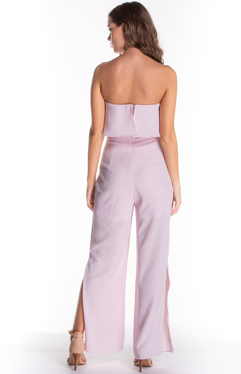 MEGAN BLUSH JUMPSUIT