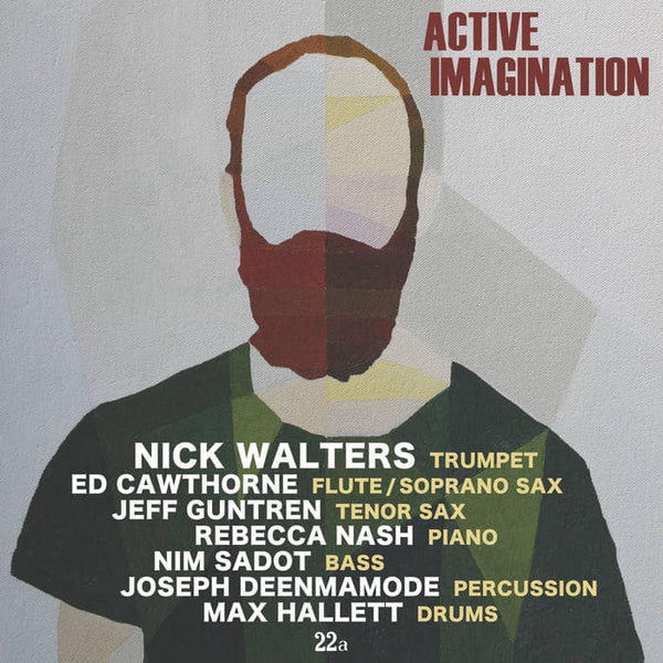 ACTIVE IMAGINATION: Nick Walters Album Cover