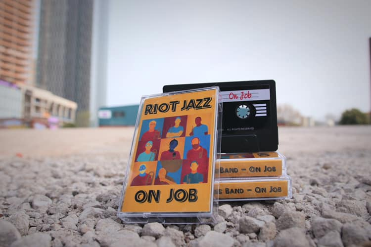 Riot Jazz 'On Job': EP Artwork
