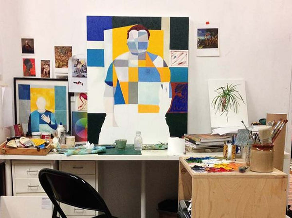 How to organise an art studio Lorna Robertson Art