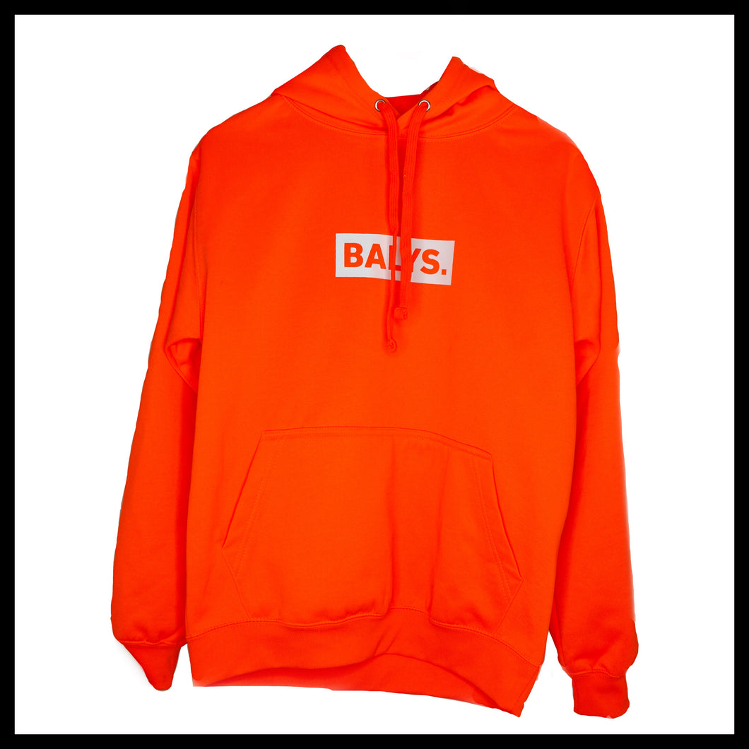 BALYS BOX Hoodie - Neon Orange