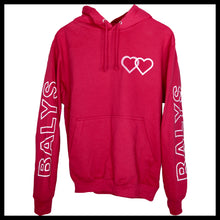 Laden Sie das Bild in den Galerie-Viewer, Balys Sleeve Hoodie - Cranberry