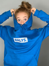 Laden Sie das Bild in den Galerie-Viewer, BALYS BOX Hoodie - Saphir Blau