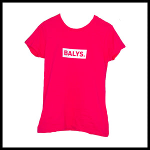 BALYS BOX Shirt - Heliconia/Pink