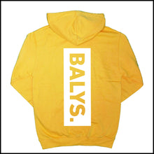 Laden Sie das Bild in den Galerie-Viewer, BALYS BOX Hoodie Goldgelb