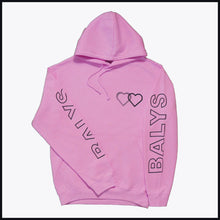 Laden Sie das Bild in den Galerie-Viewer, Balys Sleeve Hoodie - Rosa