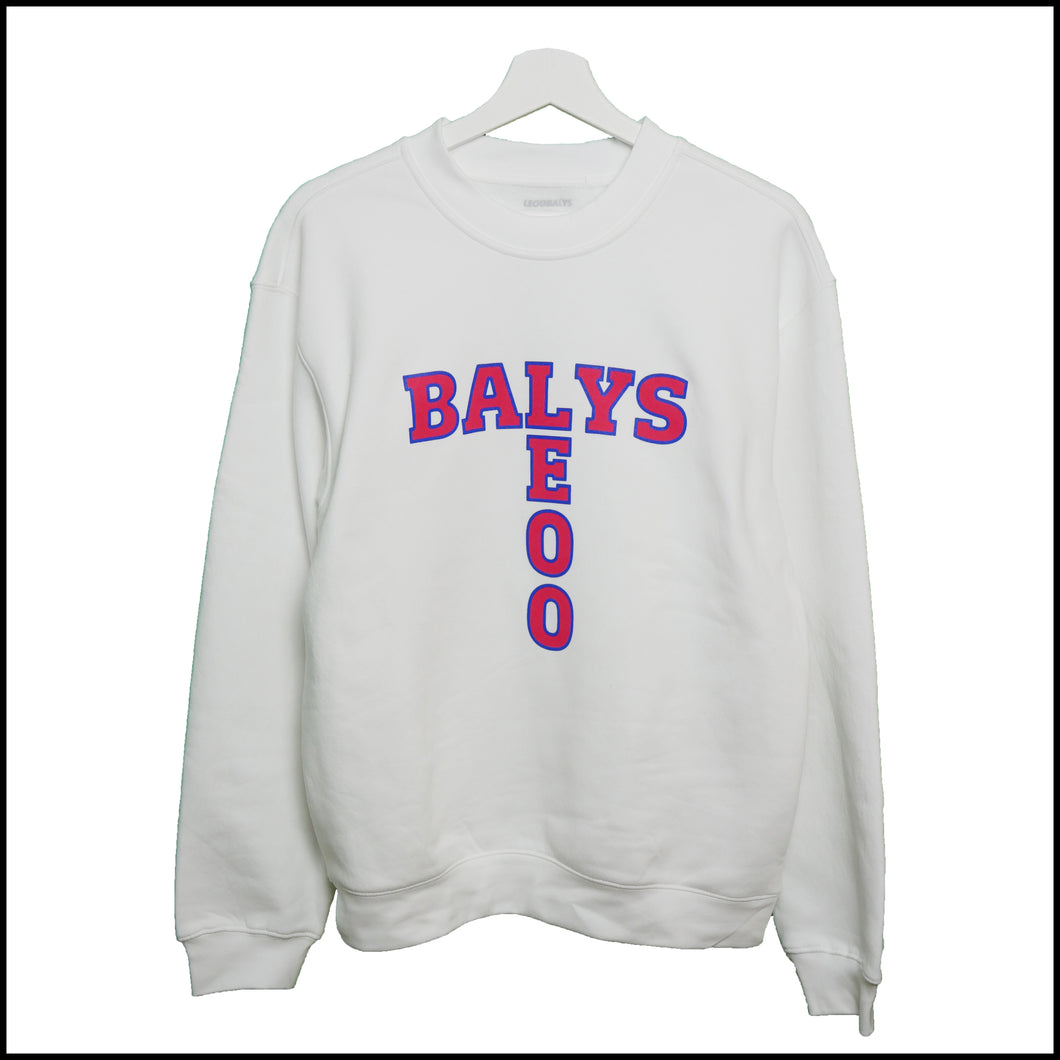 BALYS Sweatshirt - Weiß SPECIAL OFFER !