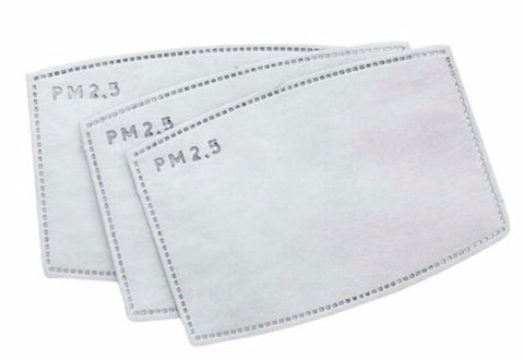 Extra PM2.5 (N95) Filters (for P2/N95 Respirator Masks) - Set of 5