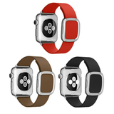 Apple Watch Band with Modern Buckle