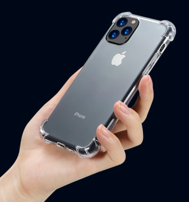 Clear Shock Absorbant iPhone Case