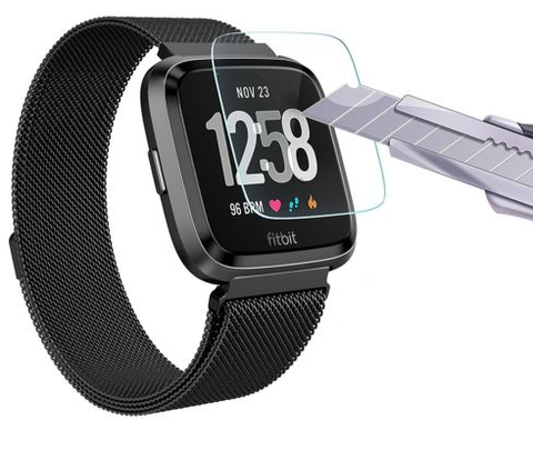 Fitbit Versa Tempered Glass Screen Protector