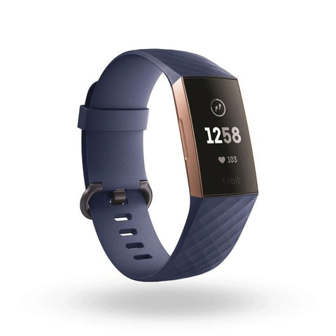 Blue Silicone Band for Fitbit Charge 3