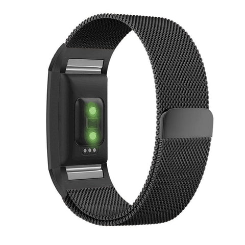 Milanese Loop Band for Fitbit Charge 2