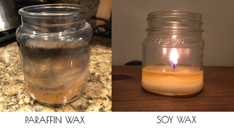 Paraffin Wax vs Soy Wax